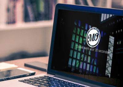 MAKING OFlogo en webdesign