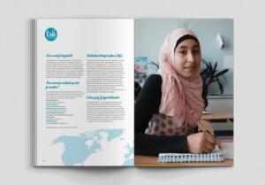 Informatiegids laten ontwerpen voor scholen