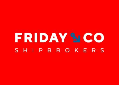 Friday & Co Shipbrokers<br>huisstijl en webdesign