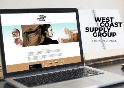 West Coast Supply Group corporate identity, branding en webdesign